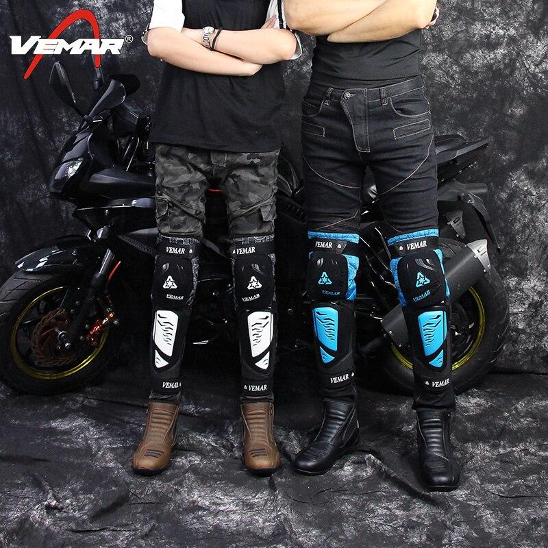 Ignifuge Genou Protecteur Moto Gear Set Hommes Moto Protéger Réglable Plaquettes Vélo Genouillère Brace Armures Hors-route VTT DH gardes