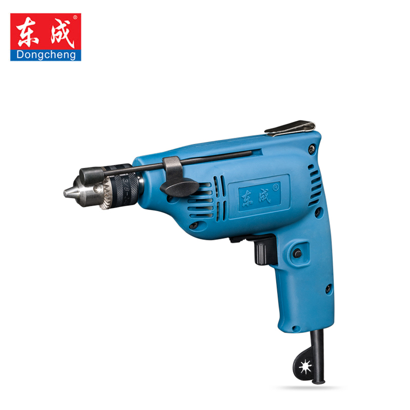цена на dongcheng 220V 230W Electric mini Drill screw driver matkap taladro electrico parafusadeira Positive reversal power tools
