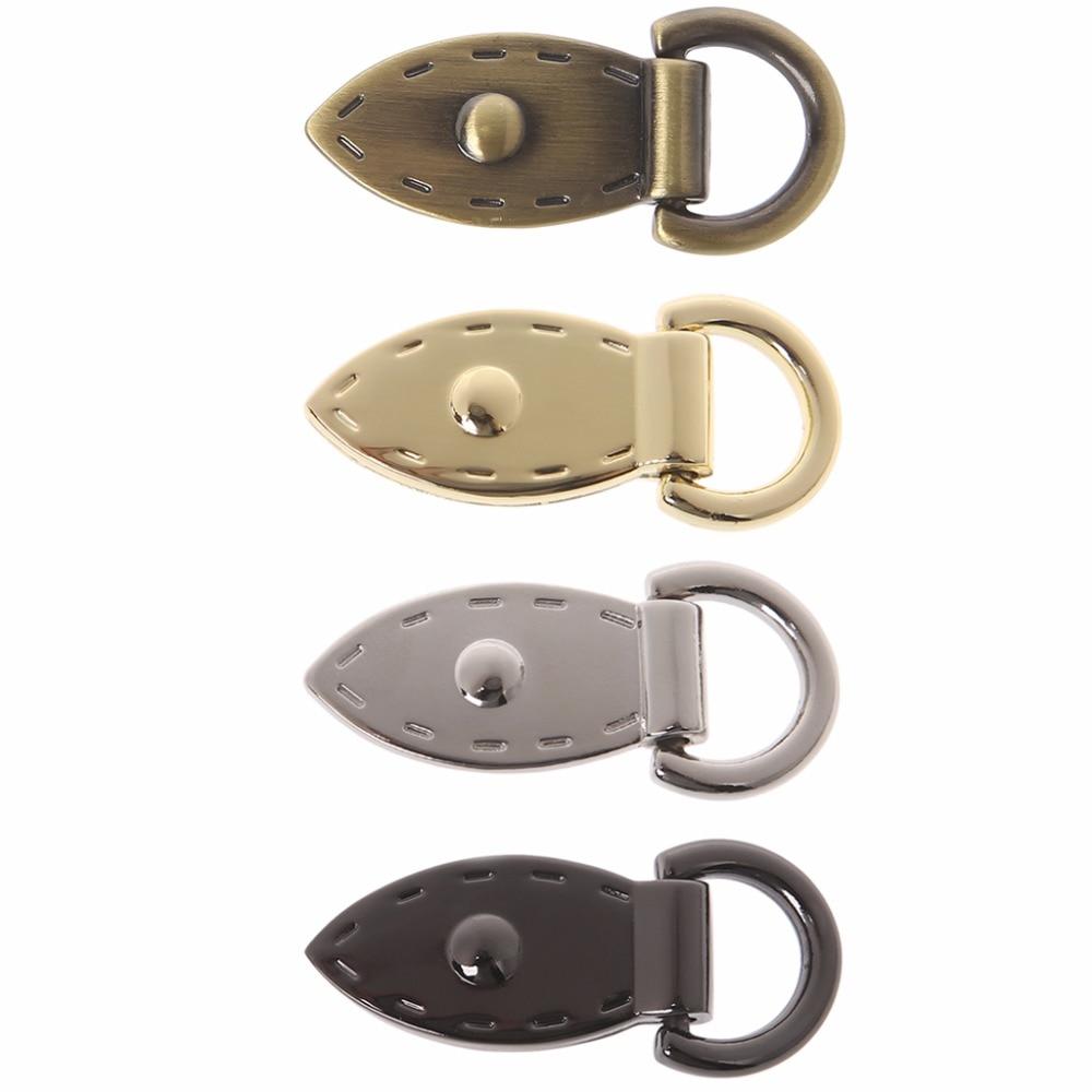THINKTHENDO Leaf D Buckle Metal Buckles Handbag Strap Clasp Keyring Dog Chain Hooks DIY Leather Craft сетка для пиццы metal craft al i d 16
