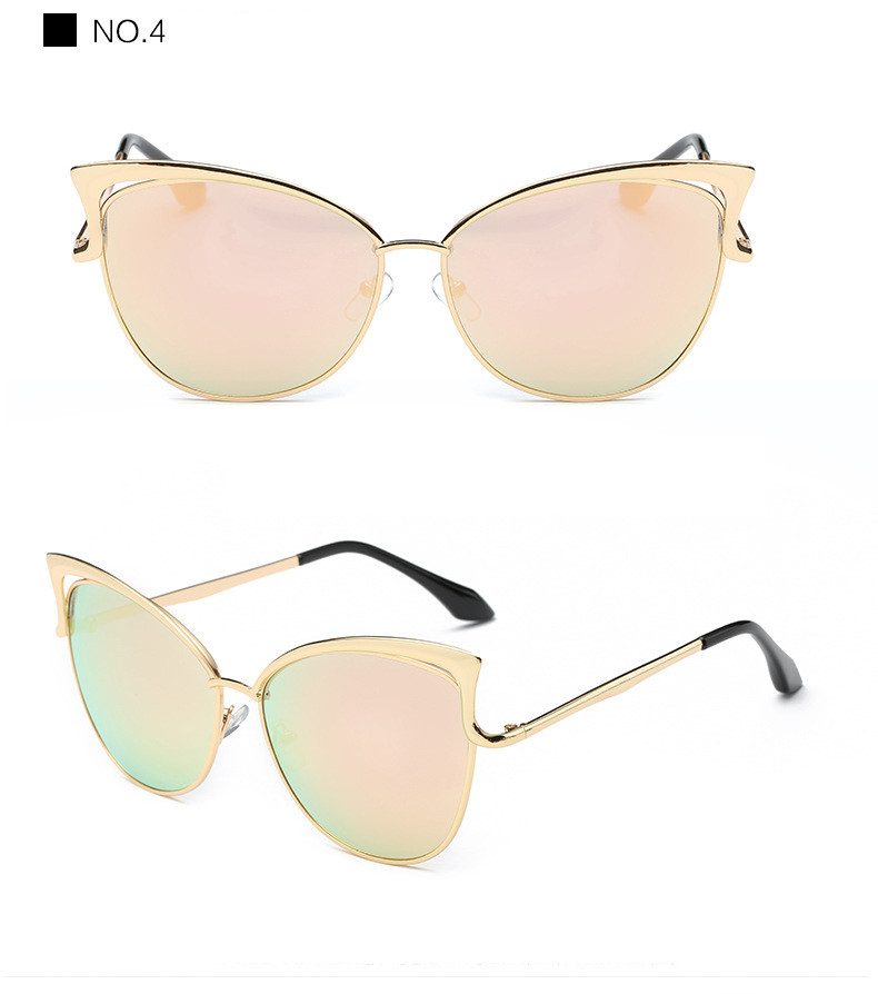 5bb6ddfd3 ... Luxury Cat Eye Sunglasses Women Brand Designer Retro Vintage Sun  Glasses Women Female Ladies Sunglass Mirror ...