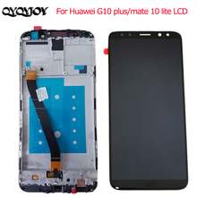Original  LCD +Frame For HUAWEI mate10 Lite Lcd Display Screen G10 RNE-AL00 / PlUS 5.9 Inch 100% Tested