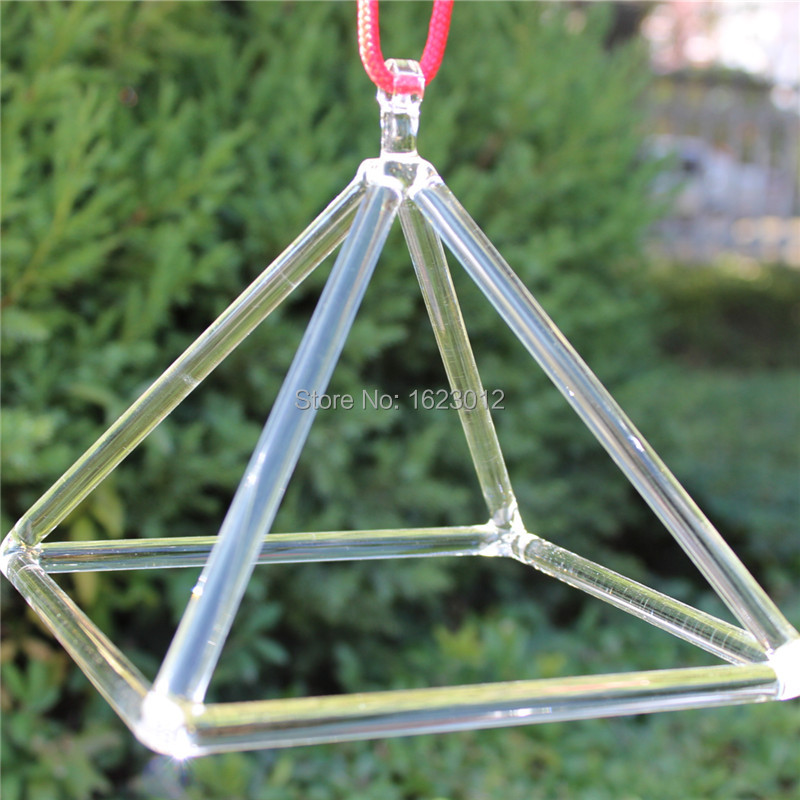 3inch and 9 inches quartz clear crystal pyramid for healing