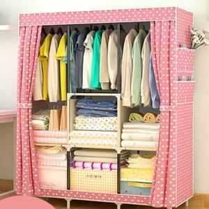 Image 5 - Многофункциональный нетканый шкаф Actionclub, пыленепроницаемый высококачественный шкаф для хранения одежды