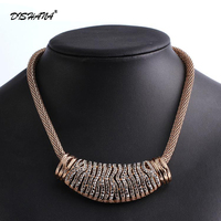 Vintage Necklace 2015 New Fashion Bohemian Style Jewelry Acrylic Stonewing Necklace Crystal Jewelry Pendant Necklace X0240