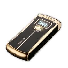 โฟกัสArc USBพลาสม่าอิเล็กทรอนิกส์สมาร์ทหรูหราเบาแสดงบุหรี่อิเล็กทรอนิกส์เบาแกดเจ็ตสำหรับผู้ชายaansteker Briquet