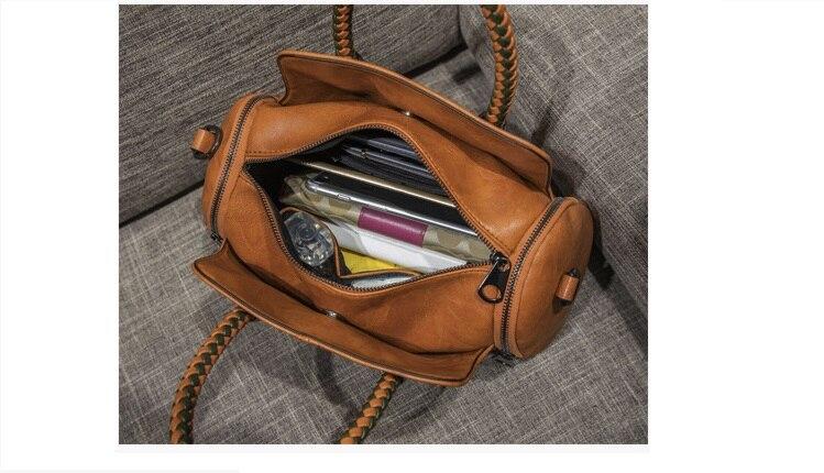sacos travesseiro bolsa de ombro do vintage c809