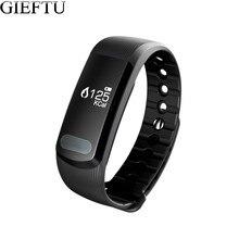 GIEFTU Android Smart Группа Сна Монитор Сердечного ритма Bluetooth Фитнес-Трекер IP67 Водонепроницаемый Браслет для iphone samsung телефон