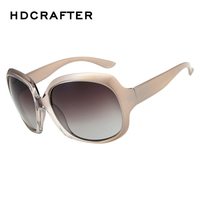 Nueva Llegada de Gran Tamaño de La Vendimia Oval Lente Gradiente Sexy Fresco gafas de Sol Retro para Mujeres Excelente Material de Gafas de Sol Polarizadas