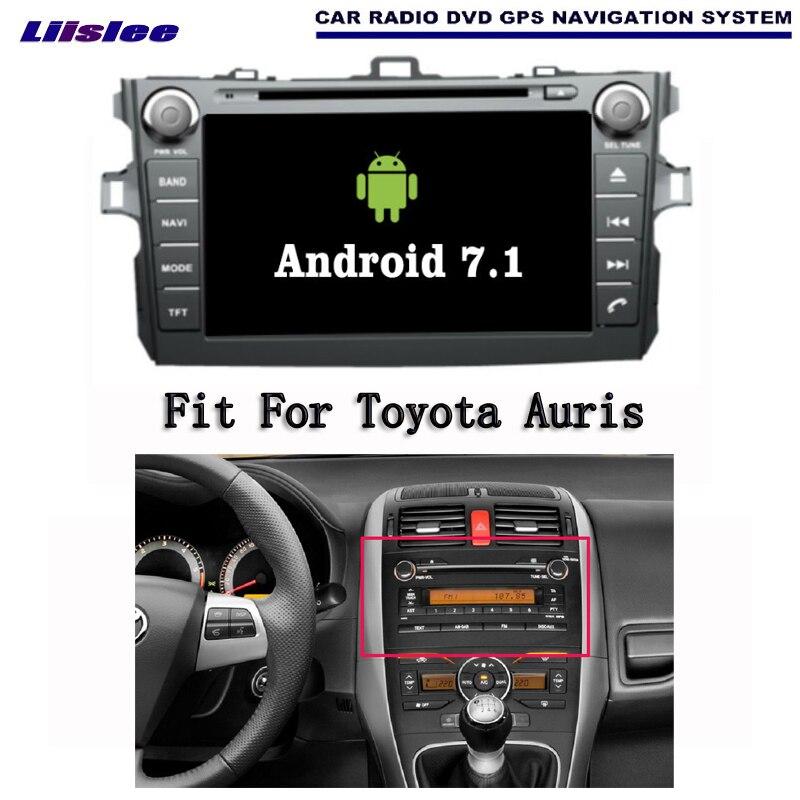 Liislee Android 7 1 2G RAM For Toyota Auris 2007 2012 Car Radio Audio Video Multimedia