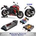 Universal Motos Scooters Modificado Yoshimura Exhaust Muffler Cachimbo CBR125 CBR250 CB400 CB600 YZF FZ400 Z750