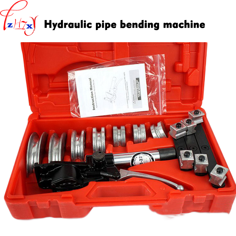 Manual hydraulic pipe <font><b>bending</b></font> machine TB-22 aluminum alloy hydraulic pipe bender quick position copper tube/hose pipe bender 1pc