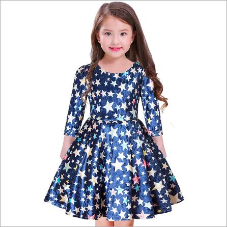 New Year Christmas Starlight Girls Princess Dress Kids Winter Dresses for Girls Clothes Festival Party Dress Children Cloth christmas international children s day costumes girls dresses for princess new year birthday dress snow queen kids clothes