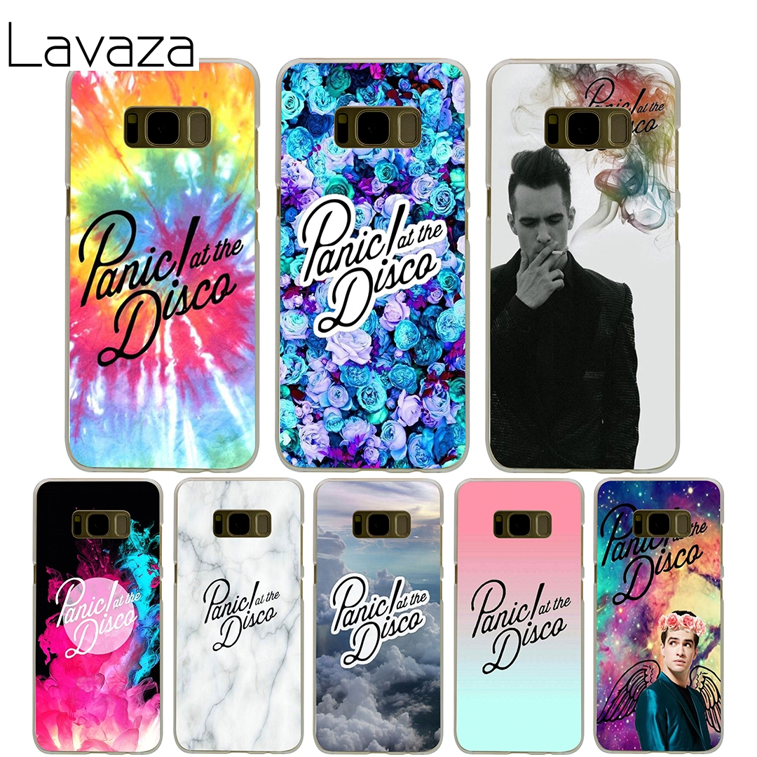 Lavaza Panic At The Disco Cover Case for Samsung Galaxy S7 Edge S6 S8 S9 Edge Plus S5 S4 S3 Mini S2 Cases Shell