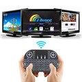 Asdomo i8 Mini Teclado Sem Fio Para MINI M8S TV Box 2.4 GHz Air Mouse Controle Remoto Touchpad Teclado Com Luz de Fundo T0.4