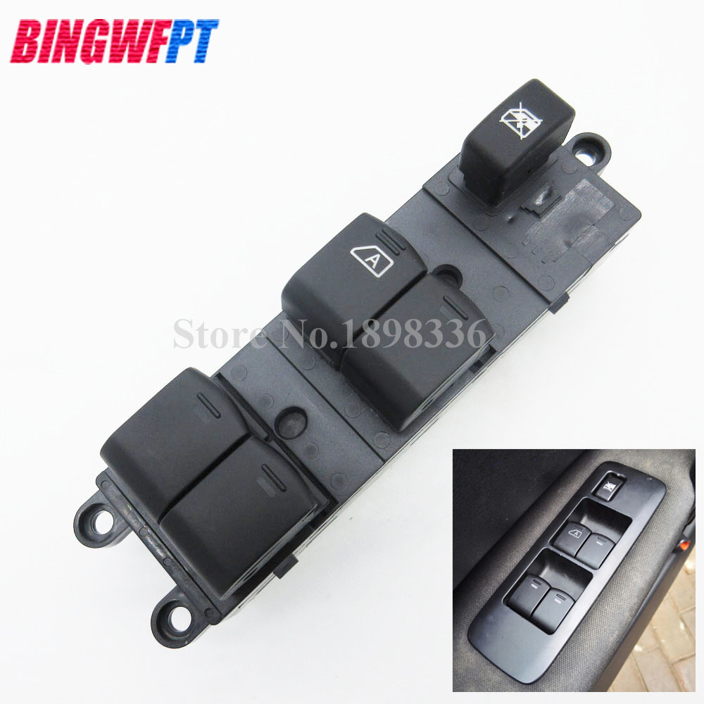 25401JD001 Schalter For Nissan Qashqai J10 2.0 dCi 4WD Navara D40 Vehicles Car QZ 25401-JD001 Power Window Switch