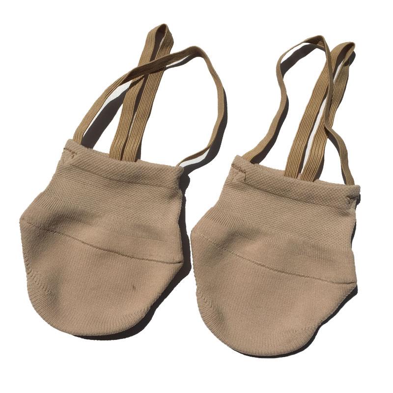 Rythmique Gymnastique Chaussures Doux Demi Chaussettes Salle De Bal Art Gym  Accessoires Ginástica Élastique Chaussures De Danse Gymnastique Kaki  Couleur ... 56f2d787a40