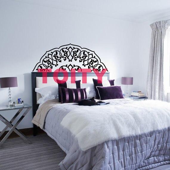 Aliexpress.com : Buy Bedroom Headboard Half Mandala Art