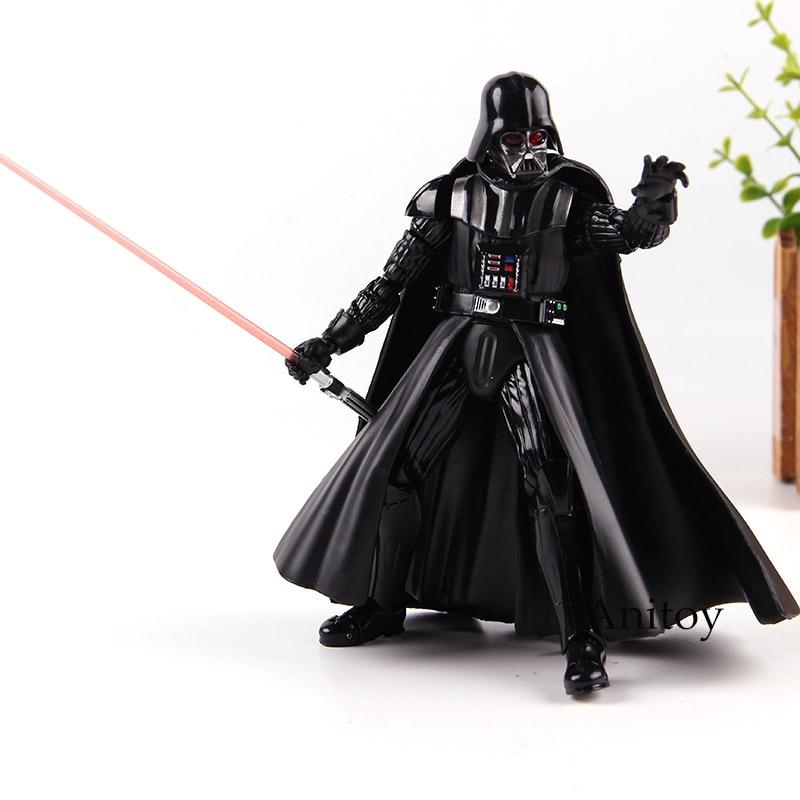 SHF Figuarts Star Wars figura Darth Vader Anakin Skywalker PVC colección modelo Juguetes