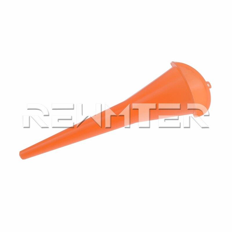 Motorcycle-Orange-Neck-Funnel-Oil-Plastic-Dropper-Car-Refueling-Filler-For-Harley-Sportster-883-1200-Touring