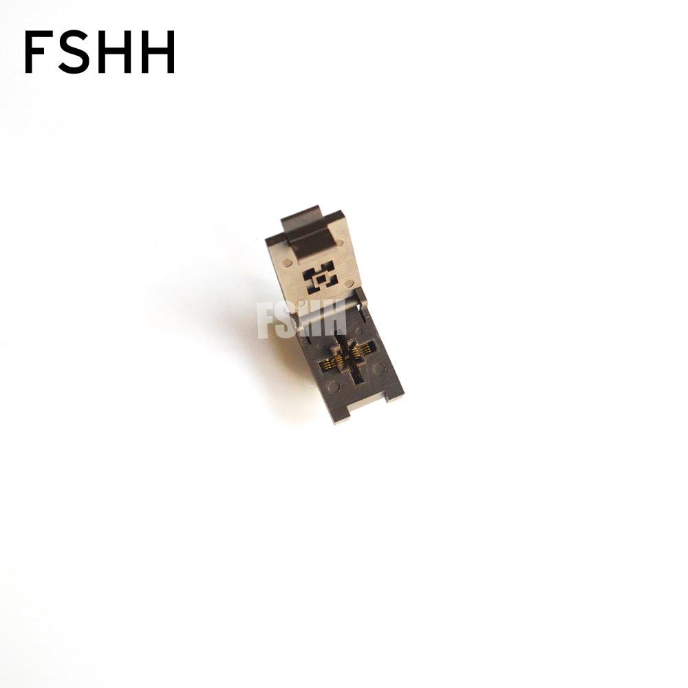 FSHH QFN18 WSON18 UDFN18 MLF18 ic test socket Size=3.6mmx3.6mm Pin pitch=0.5mm fshh qfn18 to dip18 programmer adapter wson18 udfn18 mlf18 ic test socket size 3 6mmx3 6mm pin pitch 0 5mm