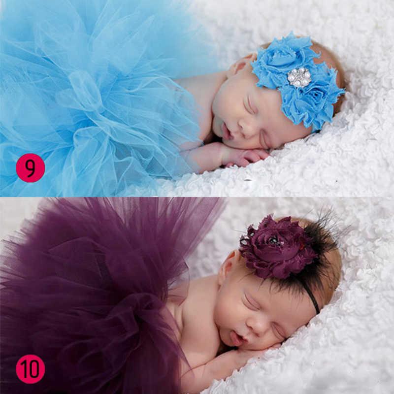 יילוד צילום תלבושות תלבושת חמוד נסיכת שמלה בעבודת יד סרוגה כפת חרוזים כובע תינוקת קיץ שמלה