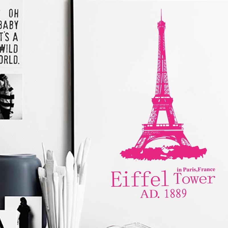 Mākslas dizaina mājas rotājums lēts Romantiskais Parīzes Eifeļa - Mājas dekors - Foto 3