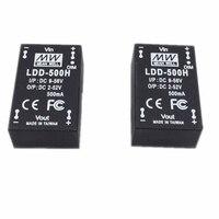MEANWELL ldd 500 H 700 H 1000 H DC-DC понижающий светодиодный драйвер постоянного тока