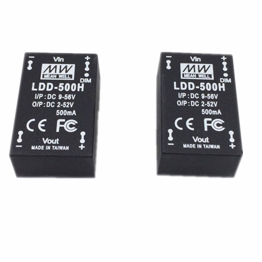 Meanwell LDD 500H 700H 1000H DC - DC Constant Current Step-Down LED Driver