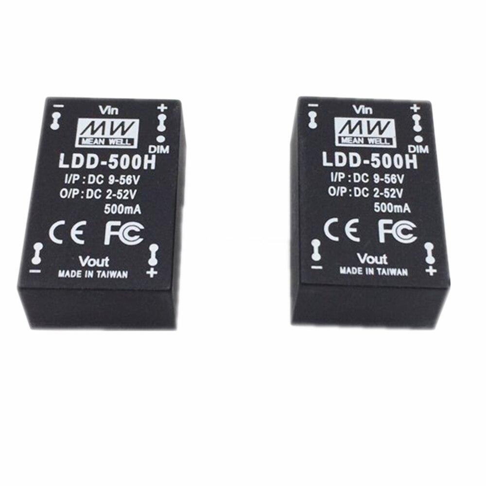 Meanwell LDD 500H 700H a 1000H DC-DC de corriente constante de paso abajo LED conductor 1 Uds linterna convoy linterna Lanterna conductor nuevo Firmware 7135x3/7135x4/7135x6/7135 8x17mm de accesorios de iluminación