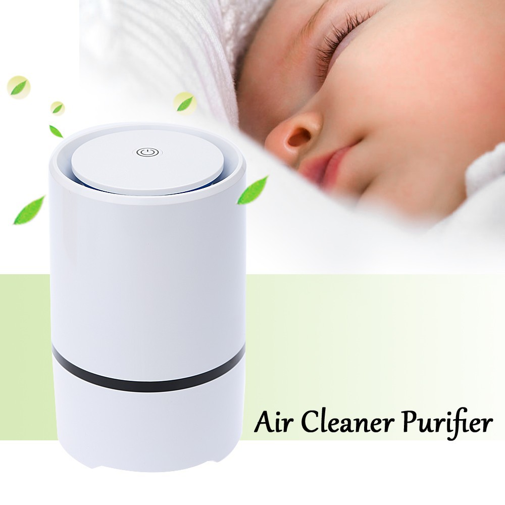 Air Purifier DC5V USB Mini Air Cleaner Purifier Negative Ion Ionizer Fresh Air Home Use