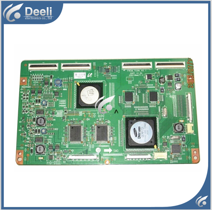 good Working original used board for FRCM-TCON-V0.1 LTF400HC01 FRCM_TCON_V0.1 95% new good working original used for power supply board led 42v800 le 42tg2000 le 32b90 vp168ug02 gp power board