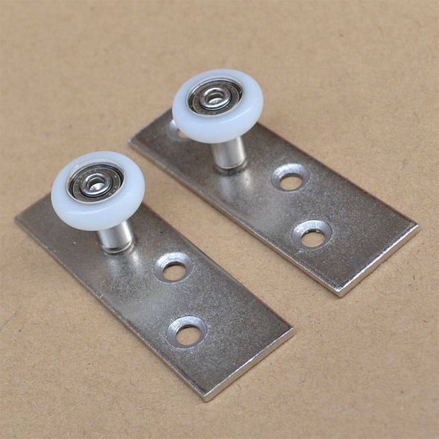 free shipping door roller Folding door the lower guide wheel fixed ...