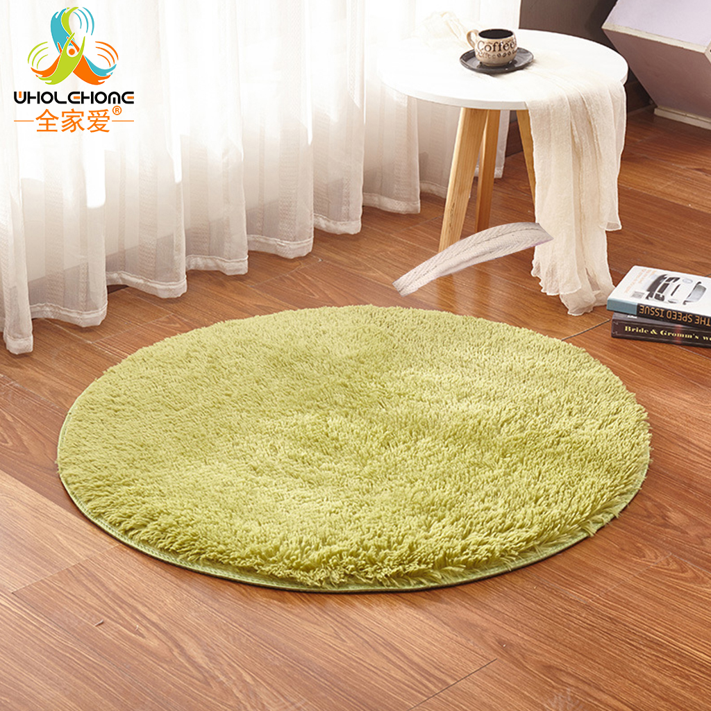 Us 3 97 Super Soft Shaggy Fluffy Rugs Anti Skid Living Room Bedroom Area Rug Round Floor Mat Carpet Kitchen Sofa Footcloth Home Decor In Mat From