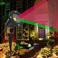 Outdoor IP65 RG Waterproof ChristmasLaser Light Outdoor Christmas Lights Projector Garden Grass Landscape Decorative Lights