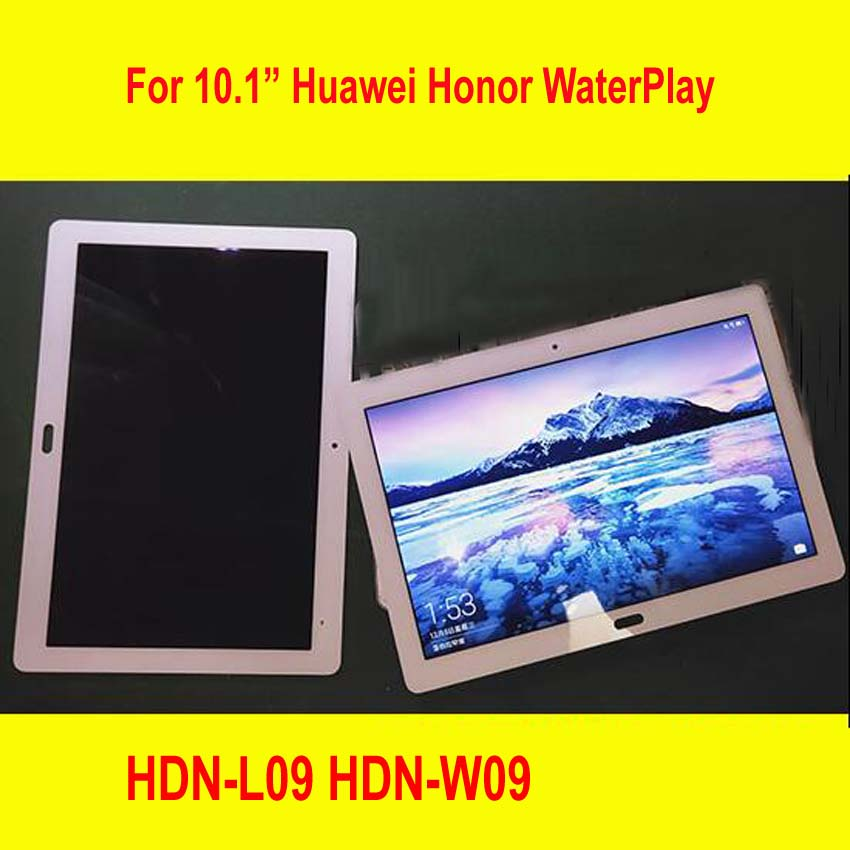 New 10 1 Glass IPS LCD Display Touch Panel Screen Digitizer Assembly For Huawei Honor WaterPlay