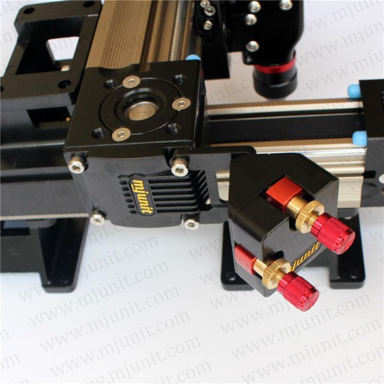 DIY Laser Cutting Machine belt drive laser rail toothed belt drive motorized stepper motor precision guide rail manufacturer guideway