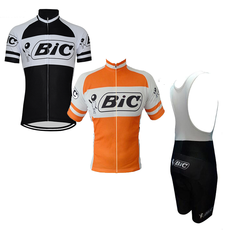 New Men Bic Cycling Jersey Set Black Retro Clothing Bike Wear Road Mountain Maillot Maxhonor 9D Gel Pad Bib Shorts Orange CycleNew Men Bic Cycling Jersey Set Black Retro Clothing Bike Wear Road Mountain Maillot Maxhonor 9D Gel Pad Bib Shorts Orange Cycle