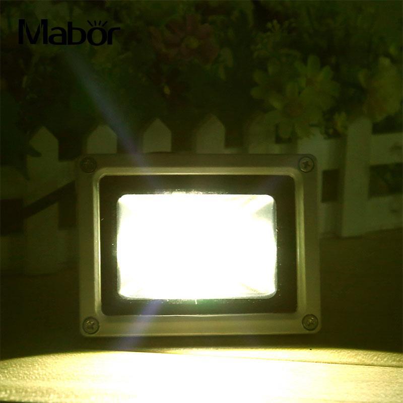10W USB Solar Power LED Flood Night Light Garden Waterproof Outdoor Lamp 800LM