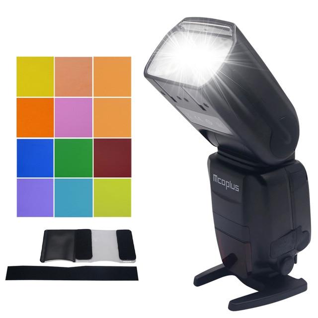 Mcoplus MT600SC GN62 Master Flash HSS 1/8000S E-TTL Flashgun Flash Speedlite for Canon EOS DSLR 500D 550D 600D 650D 700D 70D 7D