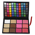 2016 New Cosmetic Eyeshadow Blush Makeup Set Kit Pro 72 Full Color Shimmer Matte Eyeshadow Make UP Palette
