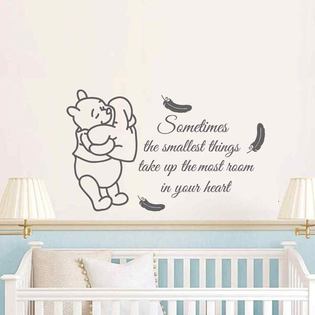 BATTOO Large Wall Decals Playroom Wall Art Display Decal Kids Room Decor  Love Wall Stickers Friends
