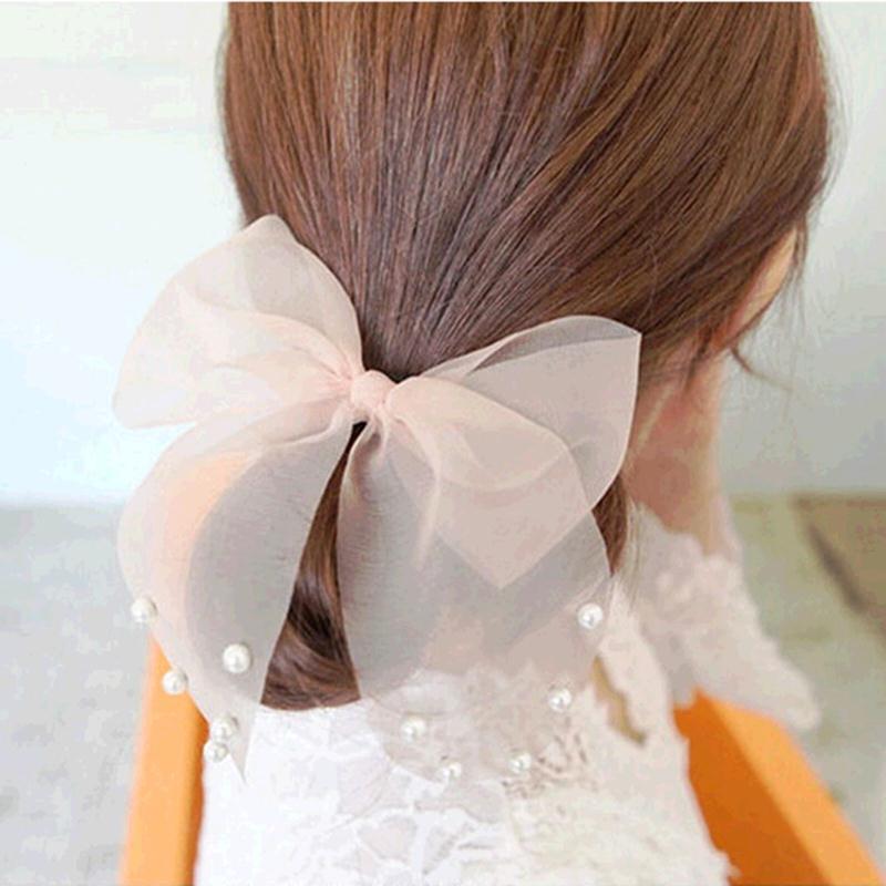 Резинки объемные для волос