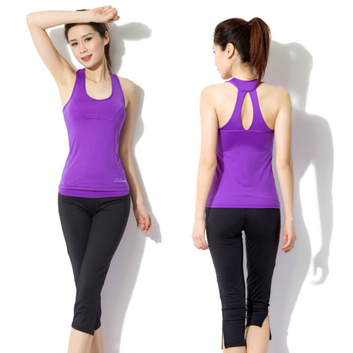 Sport Yoga Set Women Yoga Clothes High Quality Fitness