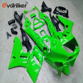 ABS Plastic fairing for ZZR400 1993-2007 ZZR 400 93 94 95 96 97 98 99 00 01 02 03Bolts+Painted green Injection mold