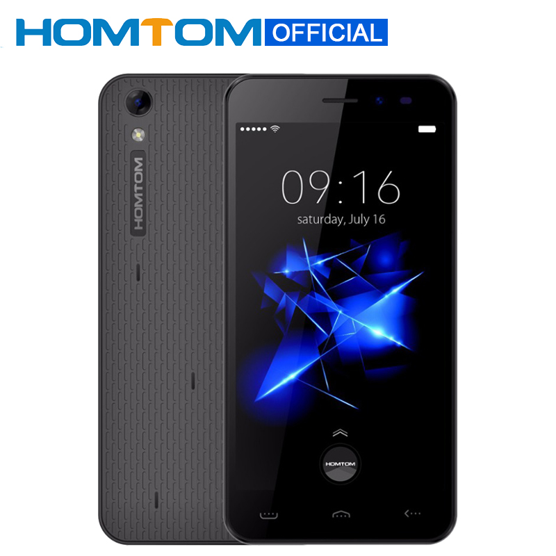Цена за Homtom ht16 pro mtk6737 quad core 5.0 дюймов hd экран android 6.0 Смартфон 3000 мАч Сотовый Телефон 2 ГБ RAM 16 ГБ ROM 4 Г Мобильный телефон