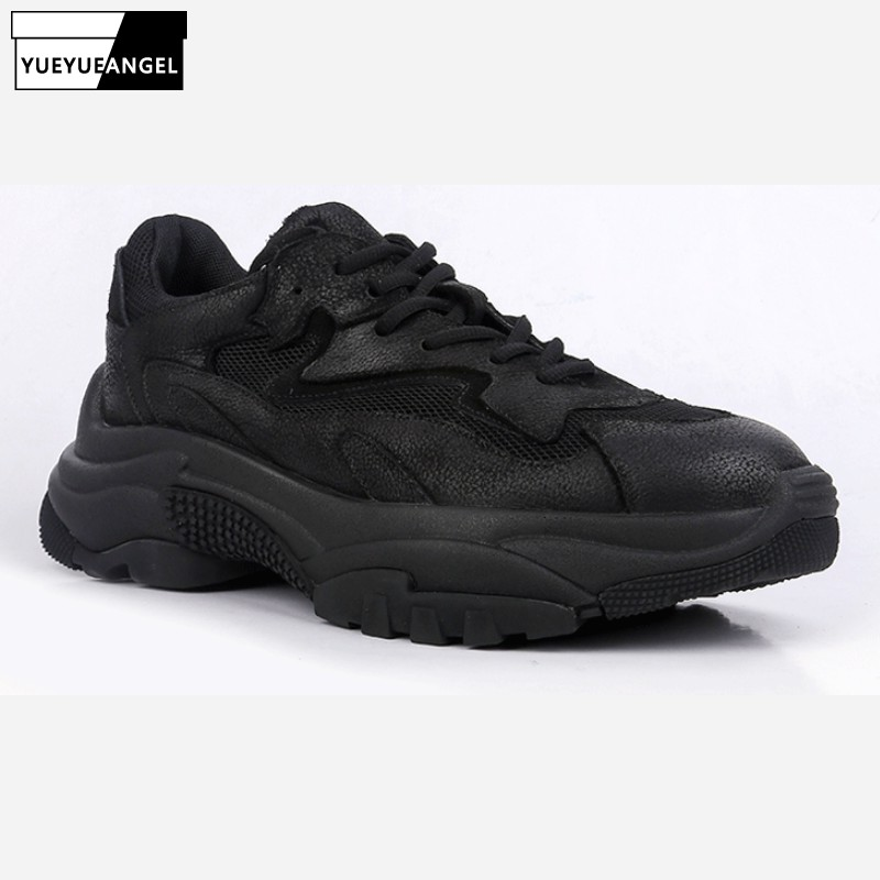 Genuine Leather Sneakers Breathable Casual Shoes Men Black Lace Up Fashion Comfortable Outdoor White Walking Shoes LightweightGenuine Leather Sneakers Breathable Casual Shoes Men Black Lace Up Fashion Comfortable Outdoor White Walking Shoes Lightweight