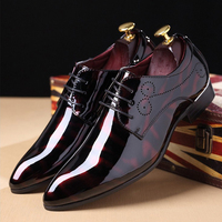 Men's Casual Shoes Moccasins Men Breathable Moccasins Men Red Solid Lace Up Oxford Shoes for Mens Big Size 46 47 48 with Socks