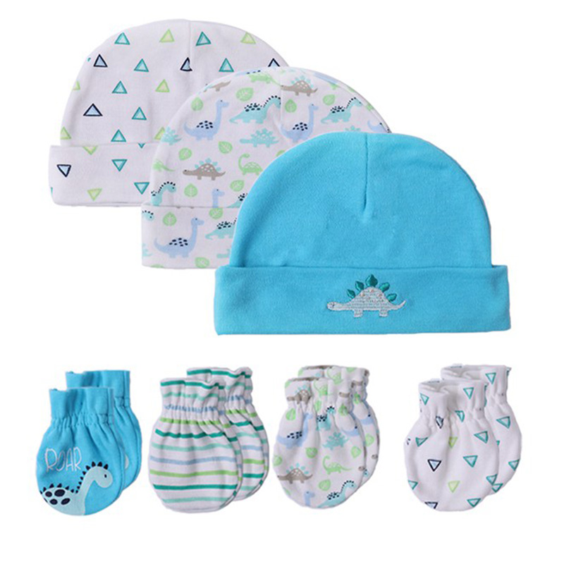 Baby Accessories Punctual Baby Girl Hats With Matching Mittens 0-6 Months