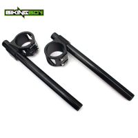 BIKINGBOY Handlebar Clip On Ons Fork Handle Bar 33 34 35 36 37 38 39 41 43 45 46 47 48 50 51 52 53 54 55 mm for HONDA 7/8 Moto