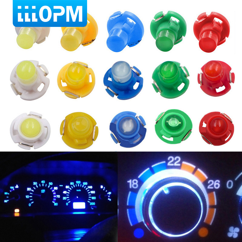 Car led 1x T3 T4.2 T4.7 LED Neo Wedge Dashboard Instrument Cluster Light Car Panel Gauge Speedo Dash Car-styling Car accessories